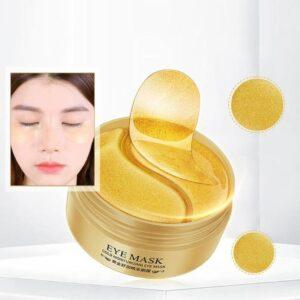 Омолаживающие гидрогелевые патчи с экстрактом золота VENZEN Eye Mask, 60 шт