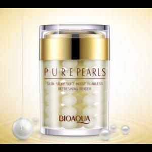 Увлажняющий крем с натуральной жемчужной пудрой Pure Pearls