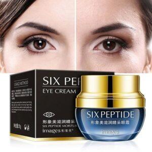 Крем для кожи вокруг глаз c авокадо Images Six Peptide Eye Cream